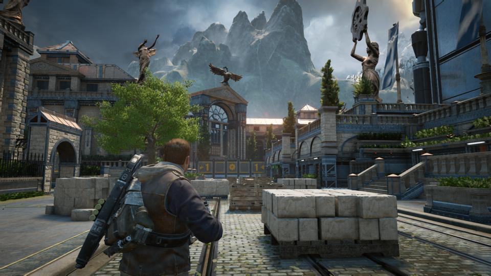 Actual in Game Screenshot