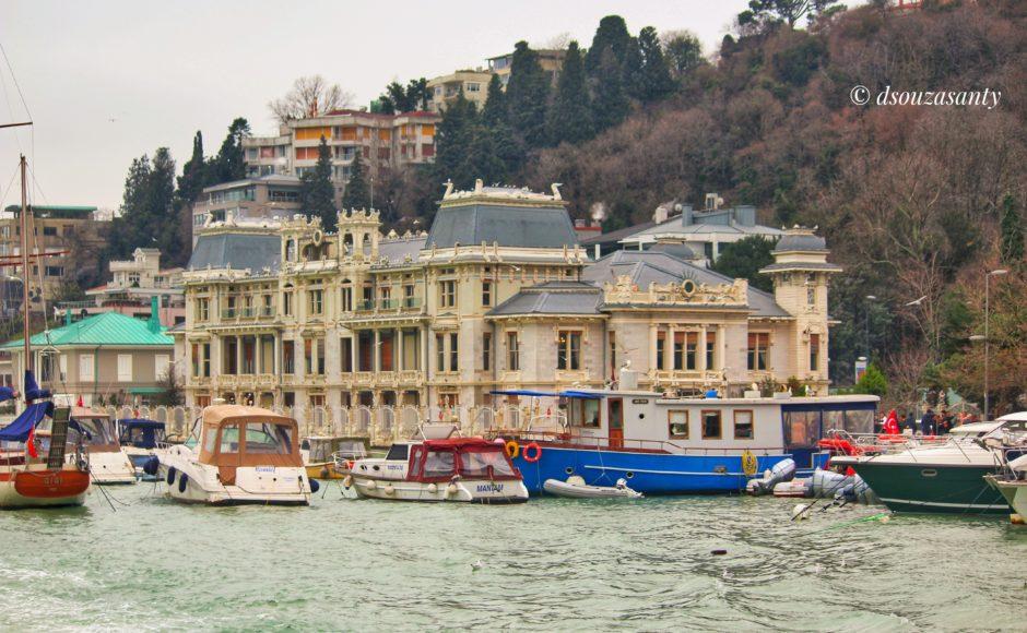 Istanbul Bosphorus Cruise View
