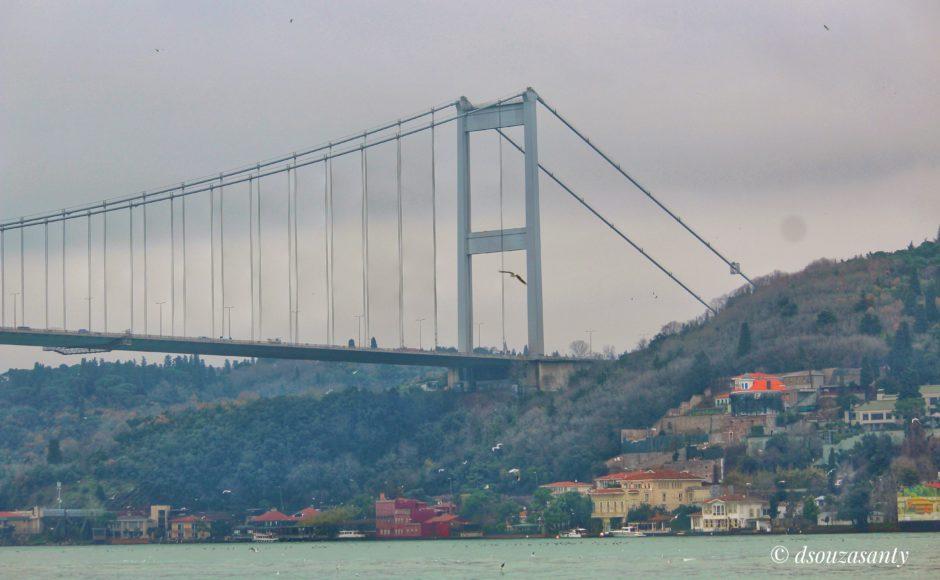 Istanbul Bosphorus Cruise- Martyr Bridge