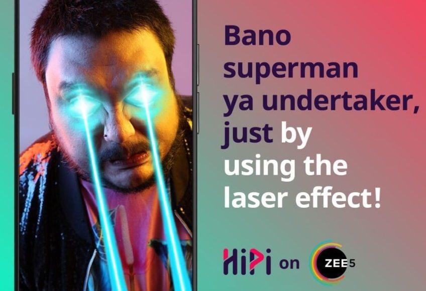 Laser Effect Filter- HiPi on ZEE5